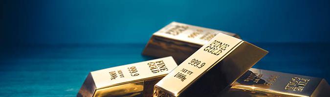 El oro en un soporte clave