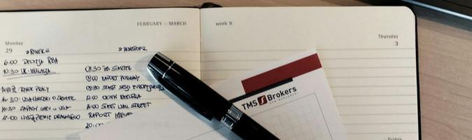 Día de mercado; día en TMS Nonstop: 13 de febrero